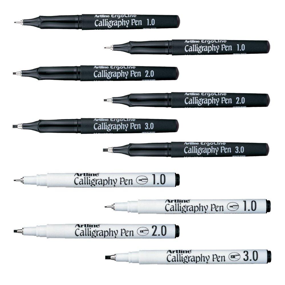 Artline Calligraphy Pen Gold Artline Calligraphy Pens