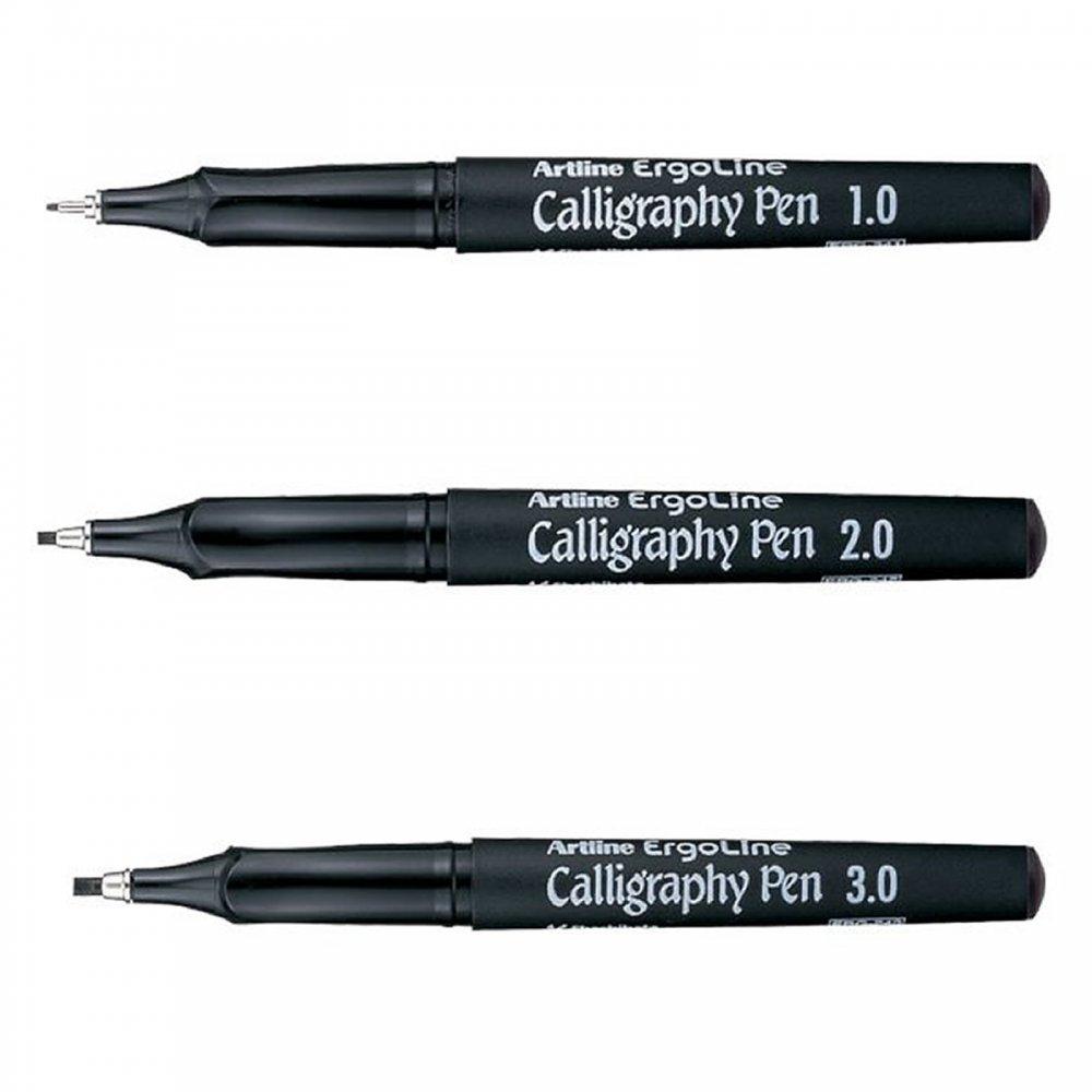 Ergoline calligraphy pen set of craftyarts
