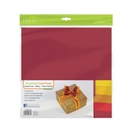 "Essential Card Pack- Heated Hues 12"" by 12"" - 10 pack 216gsm"