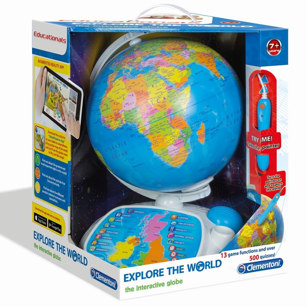 Explore The World Interactive Globe Toy - CraftyArts.co.uk