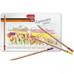 Expression Coloured Pencils 36 Tin