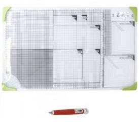 Extra Large A3+ Glass Cutting Mat & Craft Knife Bundle