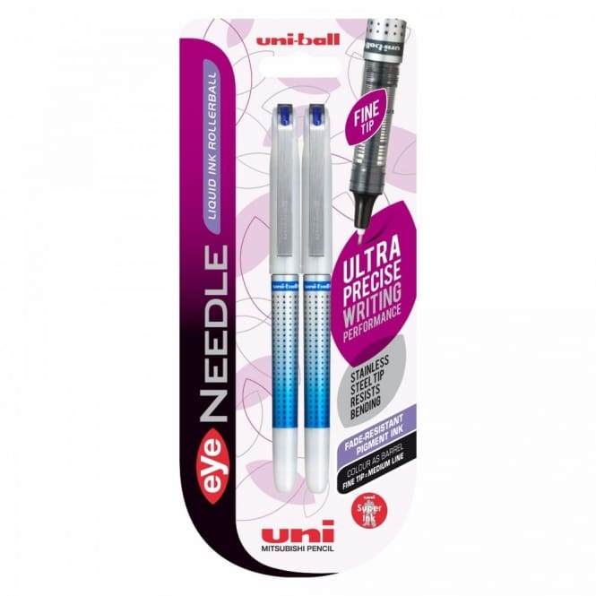 Eye Needle Liquid Ink Rollerball 2 Pack*