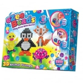 eZee Beads 3D Animal Friends*