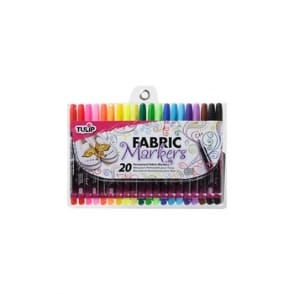 Fabric Markers 20 Pack