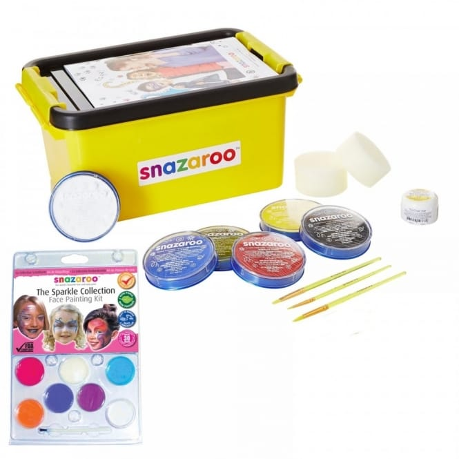 Face and Body Painting Mini Starter Kit + Sparkle Bundle