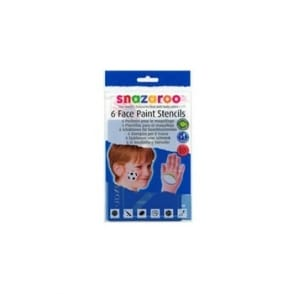 Face Paint Stencils 6 Pack Boys Assortment