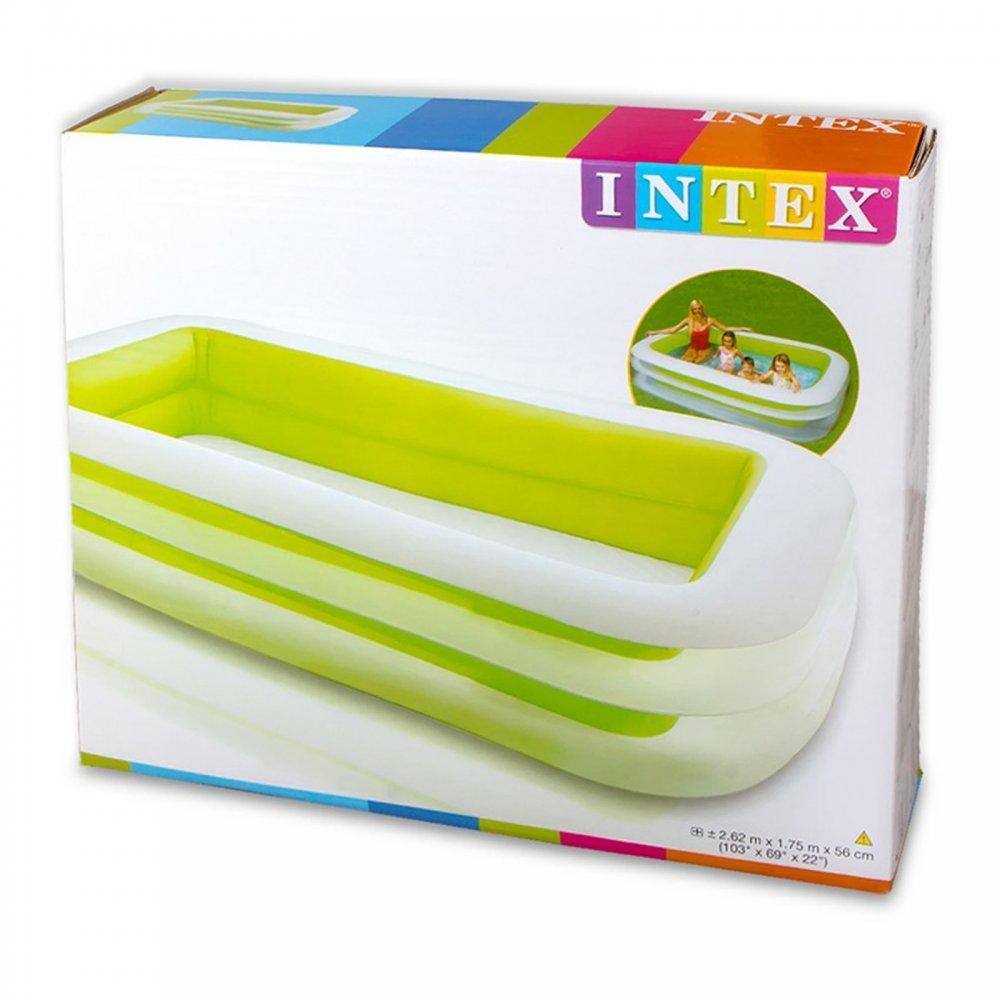 Family size swimming pool 103 intex from craftyarts for Intex pool aktion