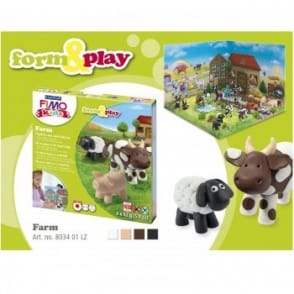 Farm Playtime and Modelling Set