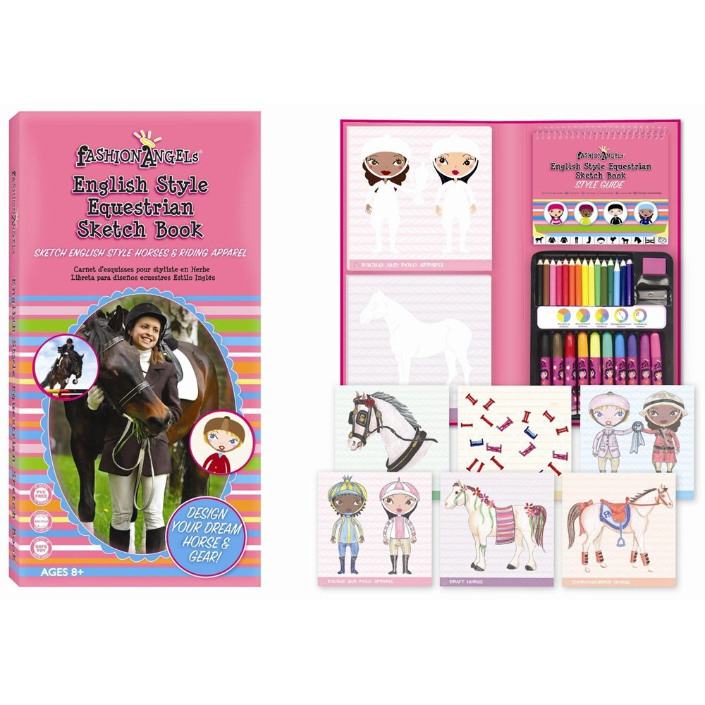 Fashion Angels English Style Equestrian Sketchbook Fashion Angels From Uk