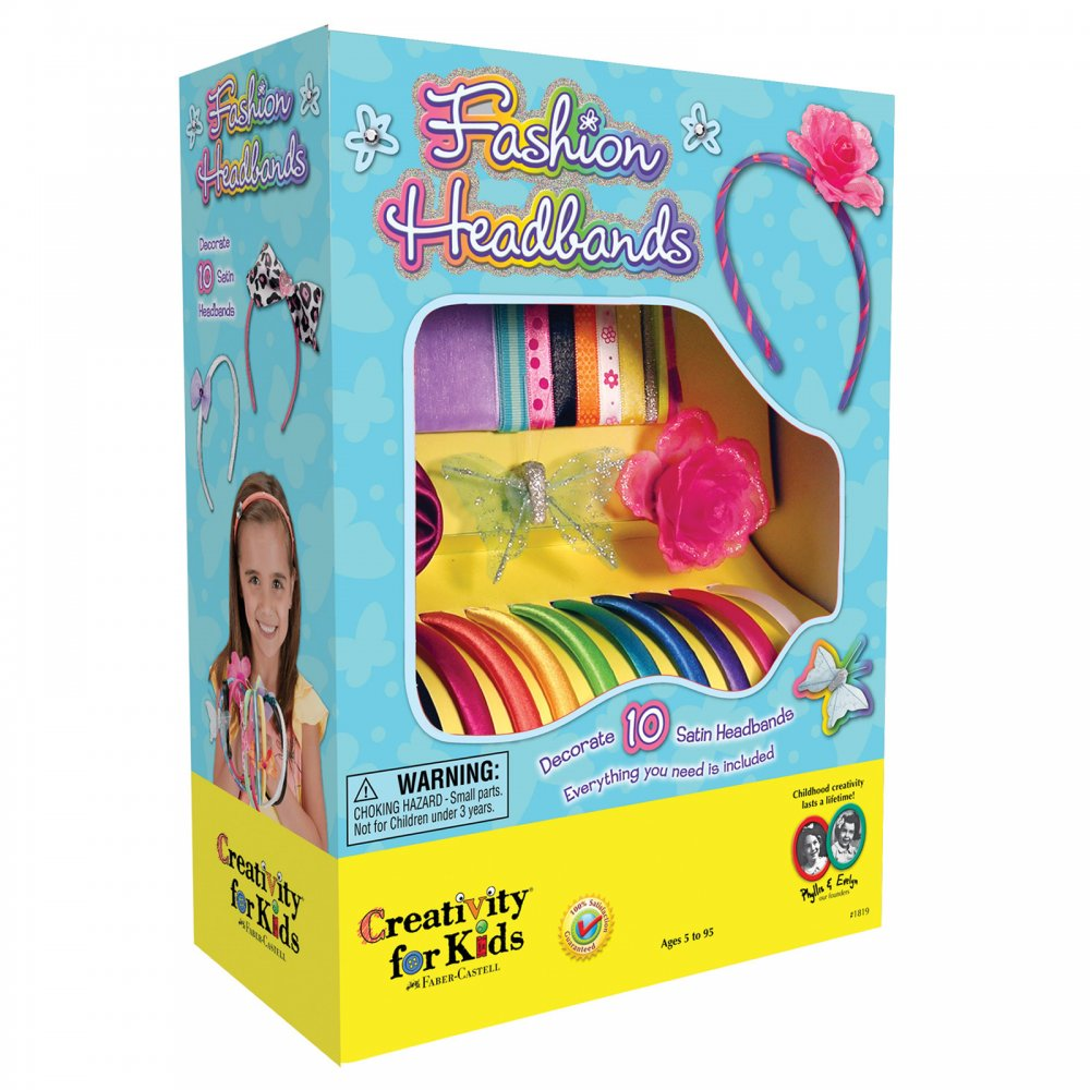 Fashion headbands creativity for kids from for Creativity for kids fashion headbands craft kit