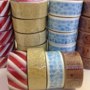 Festive Craft Tapes 5m long