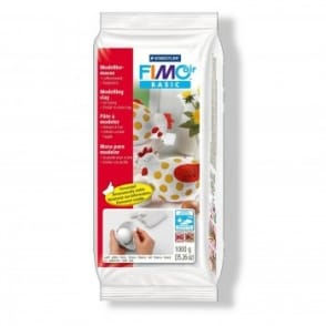 Fimo Air Drying Clay White 1 KG