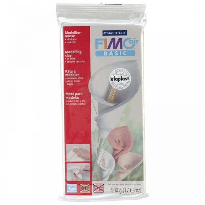 Fimo Air Drying Clay White 500g
