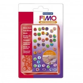 Fimo Flexible Push Mould Alphabet & Numbers