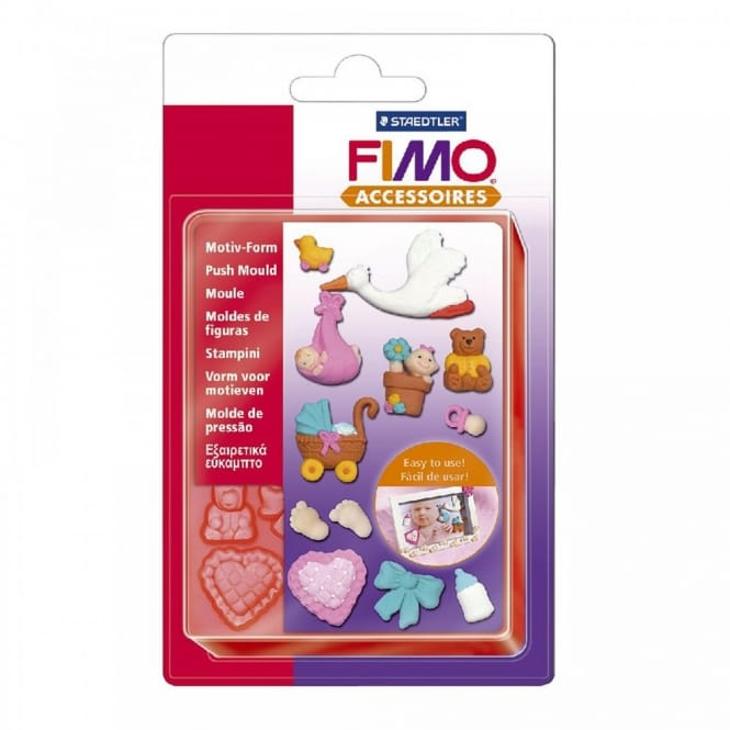 Fimo Flexible Push Mould Baby