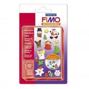 Fimo Flexible Push Mould Christmas