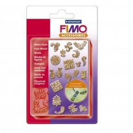 Fimo Flexible Push Mould Ornaments
