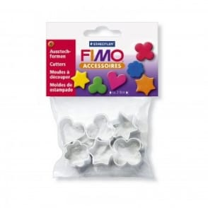 Fimo Metal Shape Cutters (6 Pack)