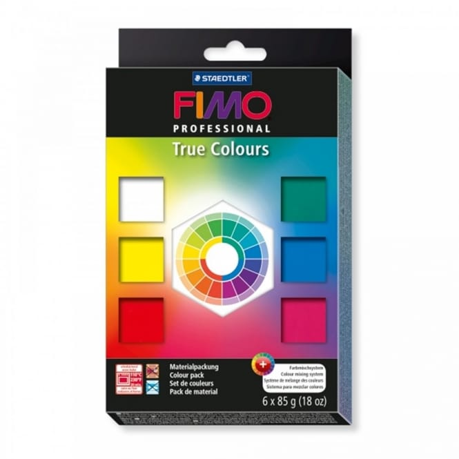 Fimo Professional True Colours pack