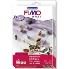 Fimo Soft Glam Colours 6 Pack