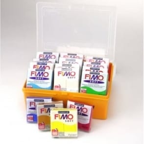 Fimo Soft & Storage Container Kit