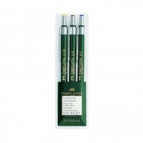 Fine Lead Pencil: Mechanical Pencil | 3 Pack | 0.35 0.5 0.7