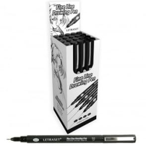 Fine Line Drawing Marker Pen 0.3 - Pack of 20