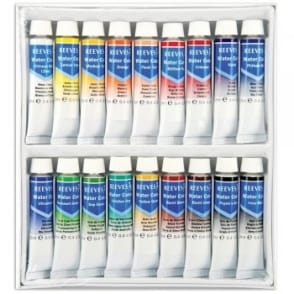 Fine Water Colours Set 18 Tubes x 12ml Tubes