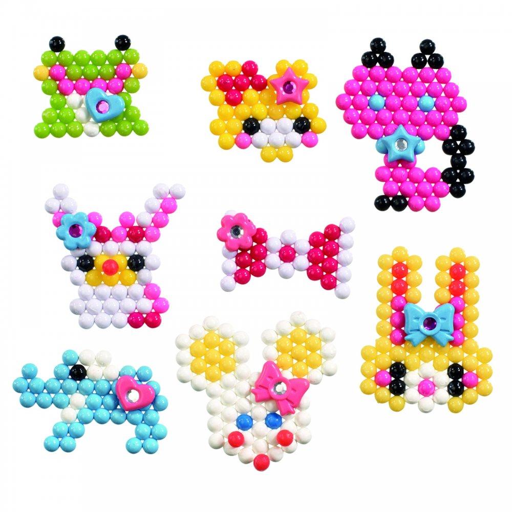 Flair Original Aqua Beads Sparkly Gems Flair From