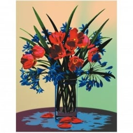 Floral Still Life Painting By Numbers