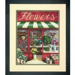 Flower Shop Paint by Numbers