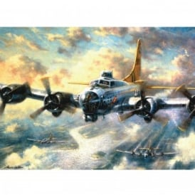 Flying Fortress Large Paint By Numbers