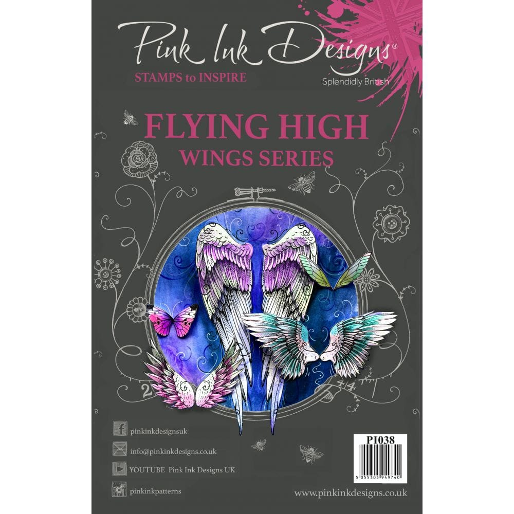 Flying High Wing Series Clear Stamps