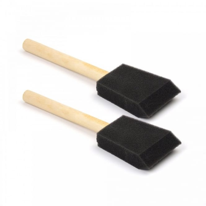 Foam Brushes Pack of 2