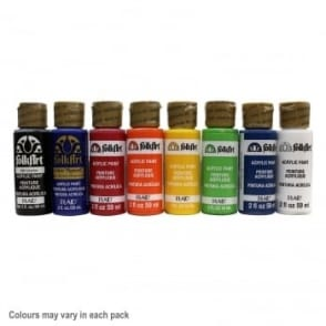 Folk Art Acrylic Starter Pack Bundle