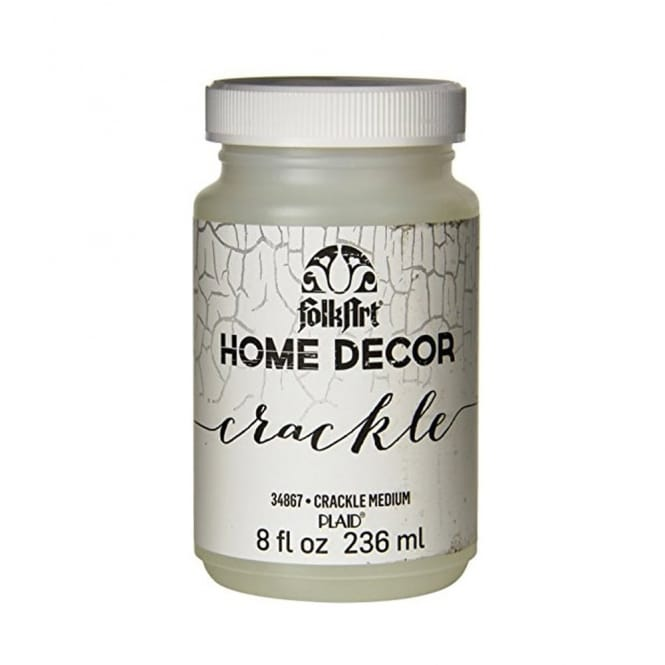 FolkArt Home Decor Crackle Medium 8oz 236ml