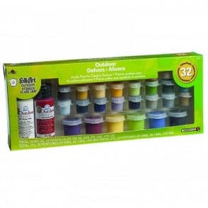 FolkArt Outdoor Acrylic Paints 32