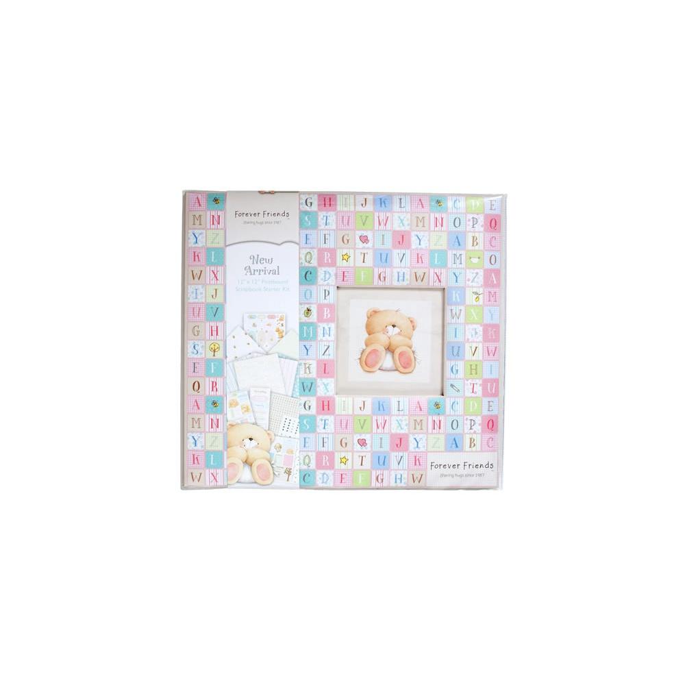 How to scrapbook uk - Forever Friends Scrapbook Starter Kit Arrival 12 X 12