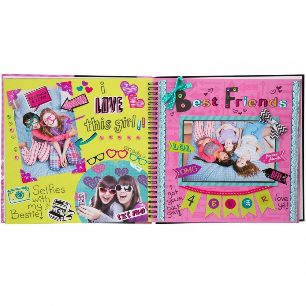 How to scrapbook uk - Friends 4 Ever Scrapbook Kit