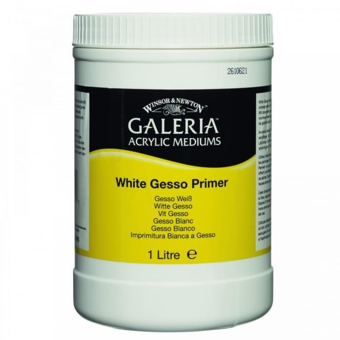 Galeria White Gesso Primer 1 Litre