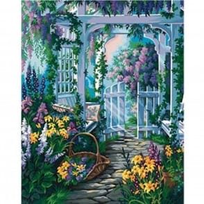 Garden Gate Paint by Numbers