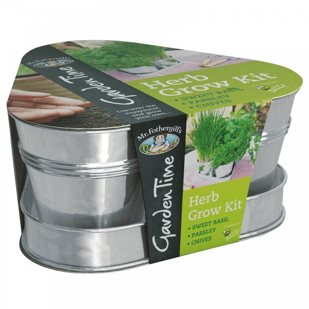 Garden Time Herb Grow Kit Mr Fothergill 39 S From