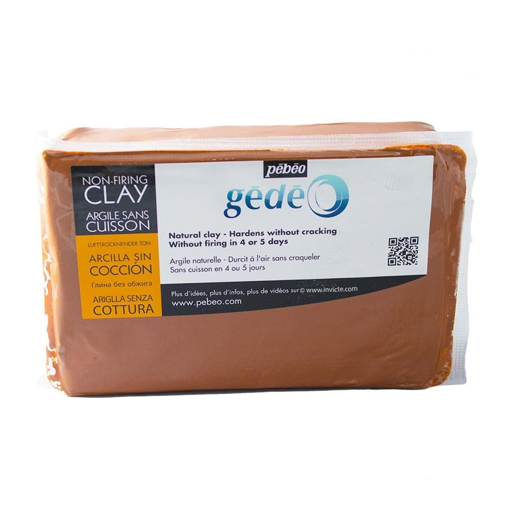Gedeo Air Hardening Modelling Clay 1 5kg Terracotta