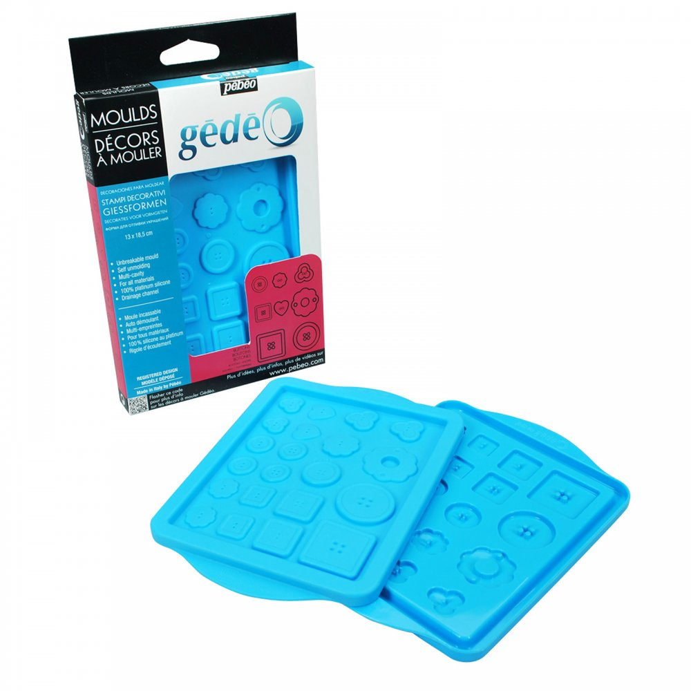 Gedeo Casting Mould Buttons