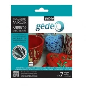 Gedeo Mirror Effect Leaves - 5 Assorted Colours