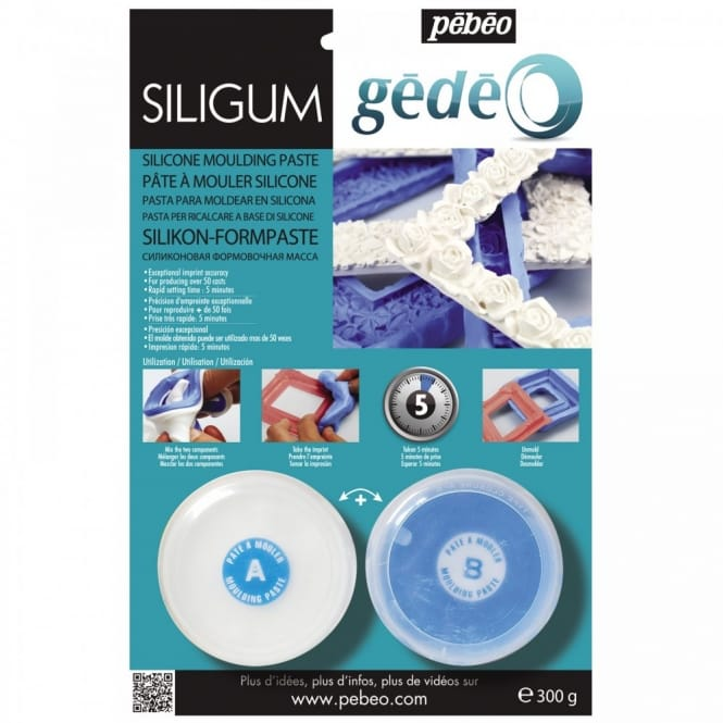 Gedeo Siligum Silicone Moulding Paste 300g