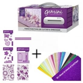 Gemini Die-Cutting & Embossing Machine With FREE A4 Paper Pack