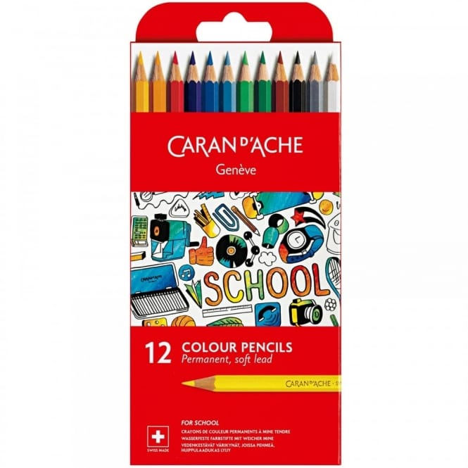 Geneve Colour Pencils 12 Pack
