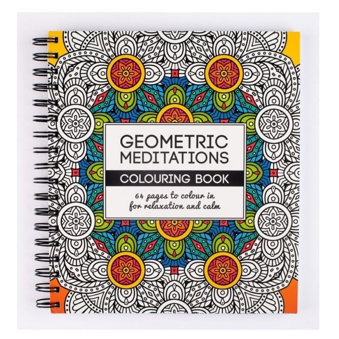 Geometric Meditations Colouring Book